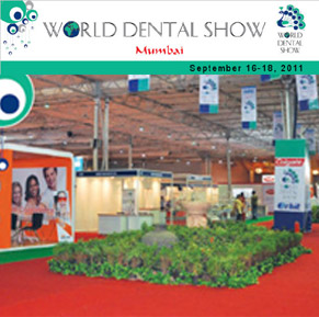 World Dental Show in Mumbai from Sept 16 to 18